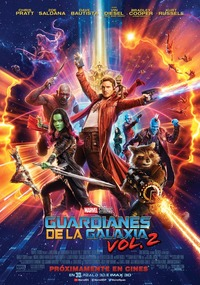 poster de Guardianes de la galaxia Vol. 2