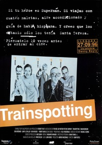 poster de Trainspotting